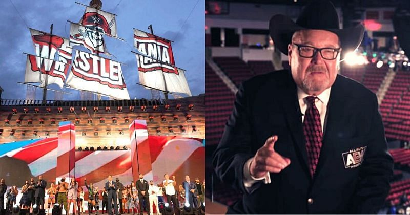Jim Ross shared his views on WrestleMania 37.