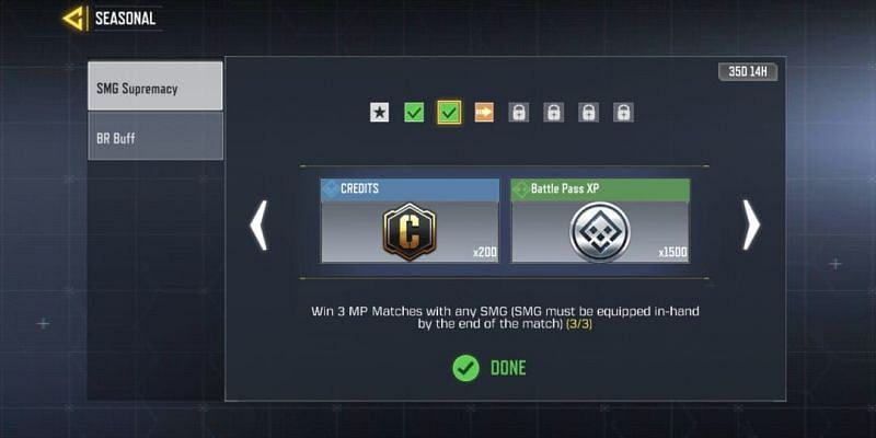SMG Supremacy - Second task (Image via Activision)