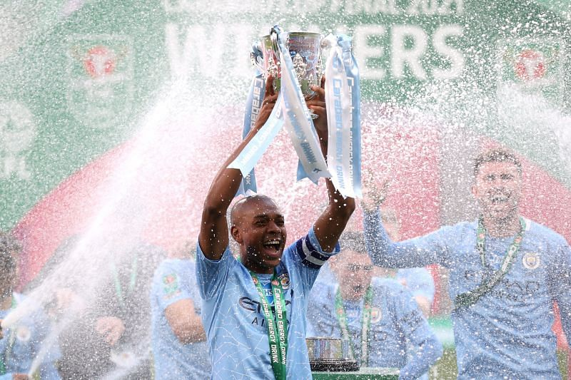 Fernandinho makes history for Manchester City