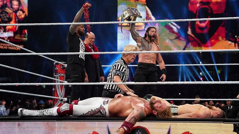 WWE Wrestlemania 37 का मेन इवेंट