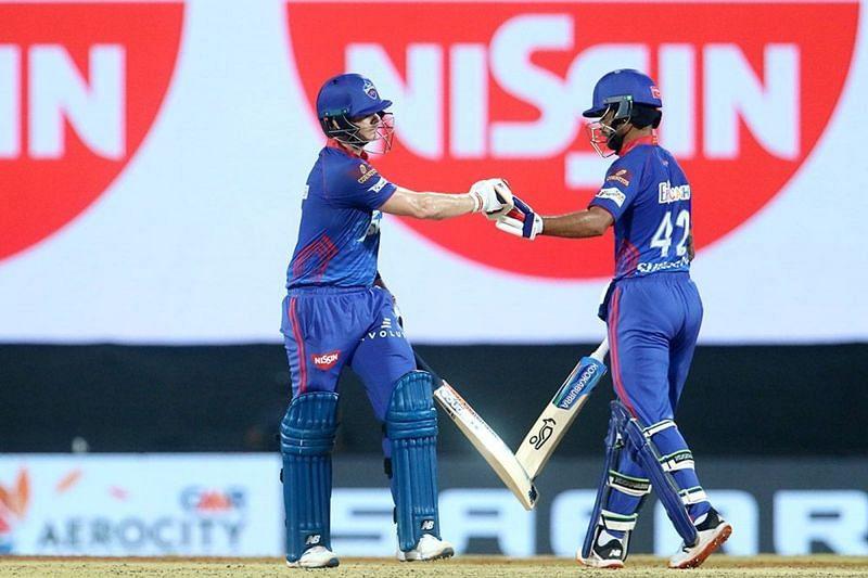 Shikhar Dhawan and Steve Smith helped the Delhi Capitals beat the Mumbai Indians (Image Courtesy: IPLT20.com)