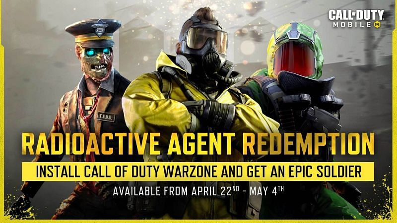 The new featured event offers a fantastic reward in COD Mobile (Image via Activision)