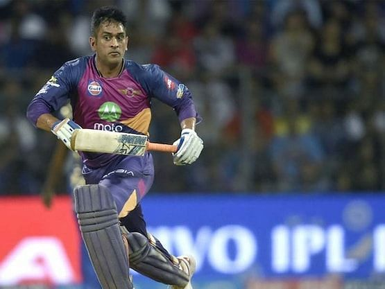 MS Dhoni roars of Rising Pune Super Giants (Source: AFP)