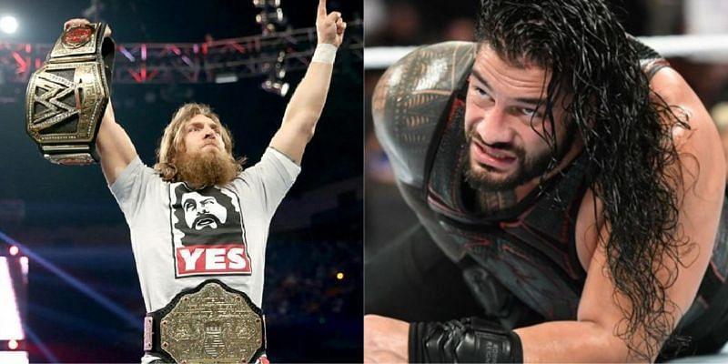 WWE सुपरस्टार्स डेनियल ब्रायन और रोमन रेंस शामिल