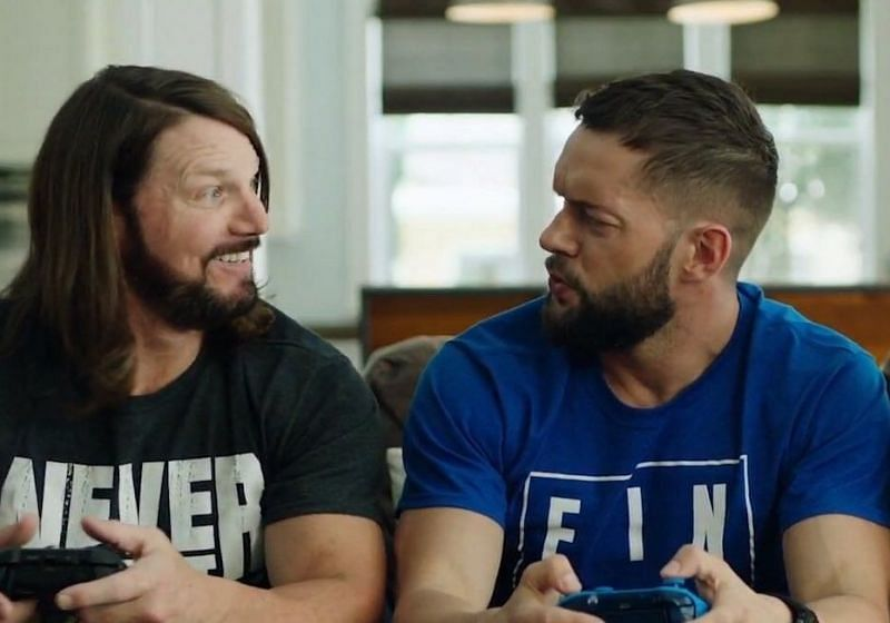 AJ Styles and Finn Balor would be great together