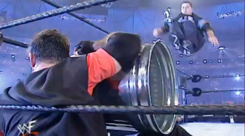 Shane McMahon takes flight at WrestleMania 17