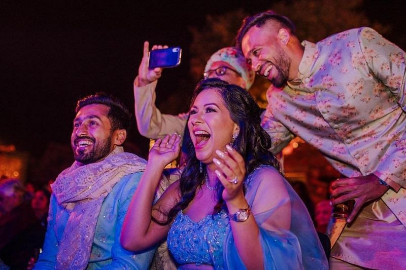 Karun Nair's Wedding Photos