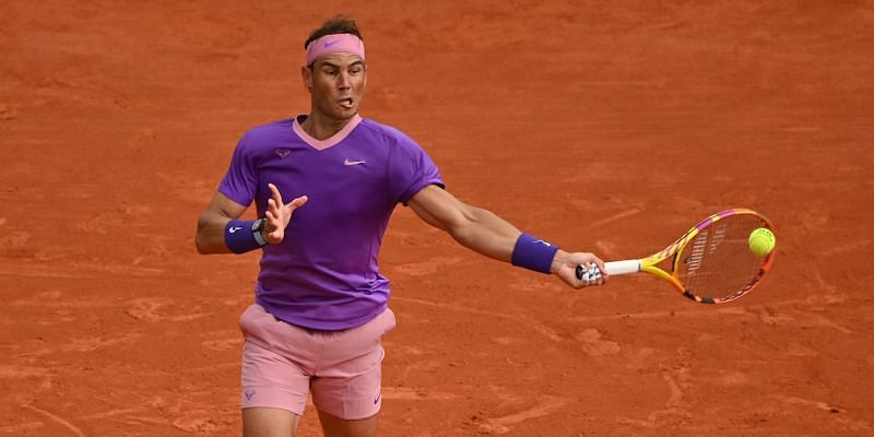 Rafael Nadal hit a lot of forehand winners in the final