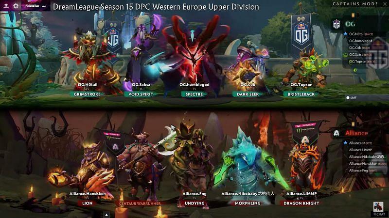 The match 3 draft (Image via Dream League)