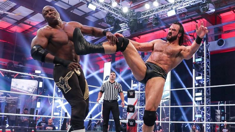 Drew McIntyre and Bobby Lashley in WWE