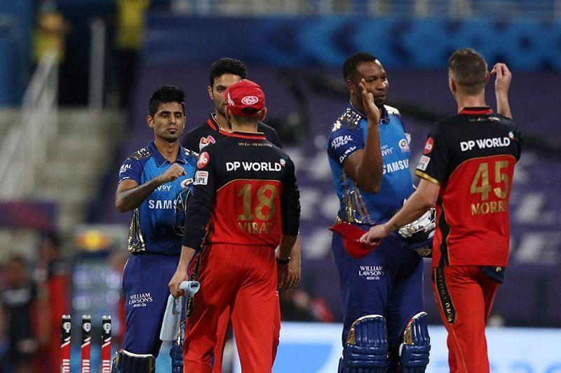 Mumbai Indians vs Royal Challengers Bangalore will kick off IPL 2021 (Image courtesy: IPLT20.com)