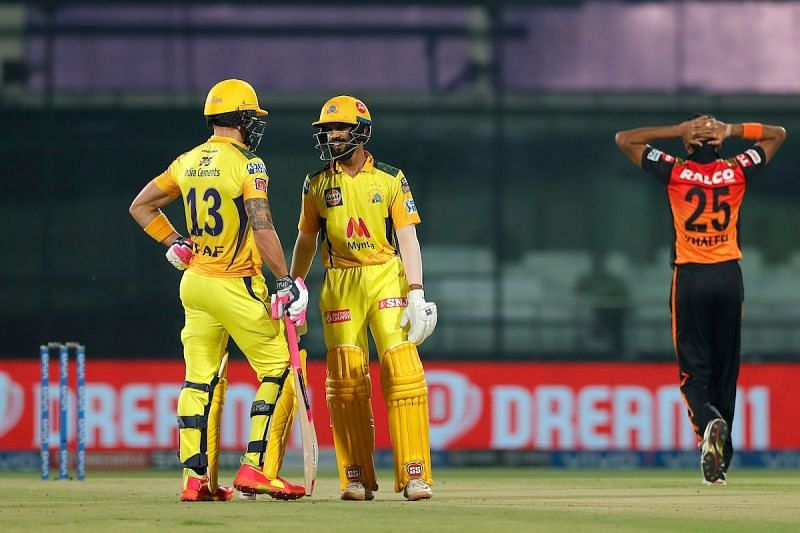 Openers Ruturaj Gaikwad (R) and Faf du Plessis (L) set the tone for CSK