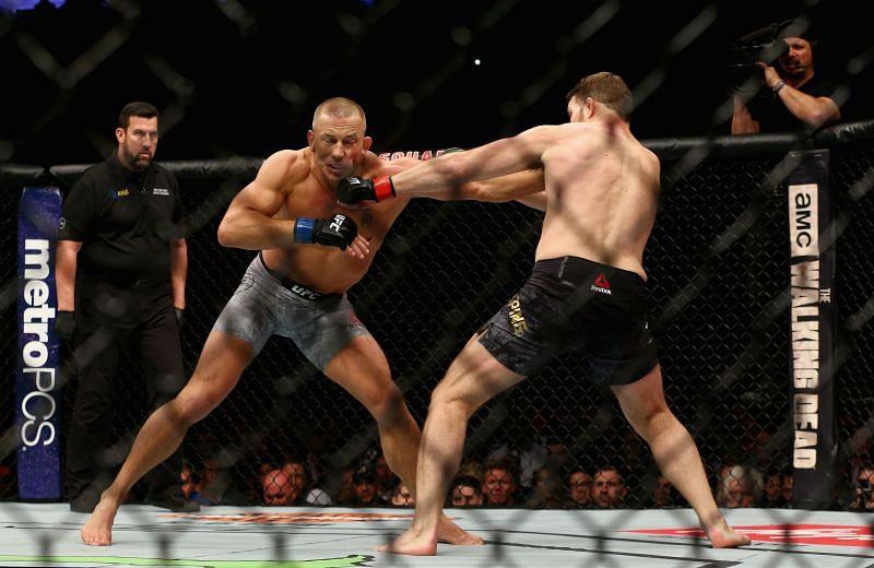UFC 217: Bisping v St-Pierr