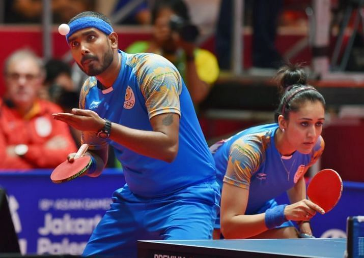 Sharath Kamal and Manika Batra will team up in the 2021 Tokyo Olympics in the mixed doubles event