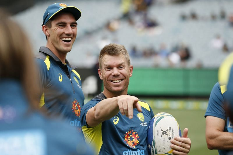 Pat Cummins and David Warner have played a lot of cricket together