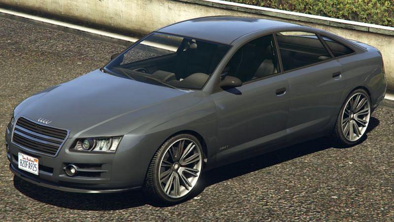 Sedans are very popular in GTA Online (Image via GTA wiki0