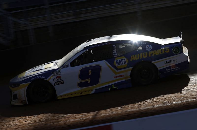 Chase Elliott will honor the late Alan Kulwicki in the 2021 Southern 500. Photo: Chris Graythen. Getty imagines