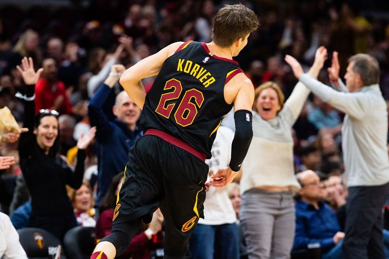 Korver with the Cleveland Cavaliers in 2018.