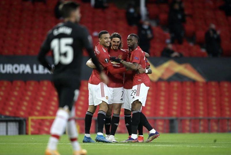 Manchester United beat Granada 2-0 to reach the Europa League semi-final