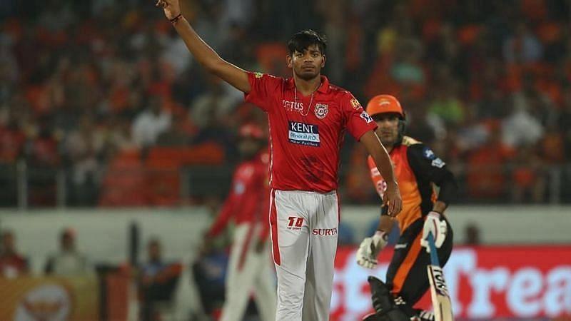 Ankit Rajpoot Pic: IPLT20.COM