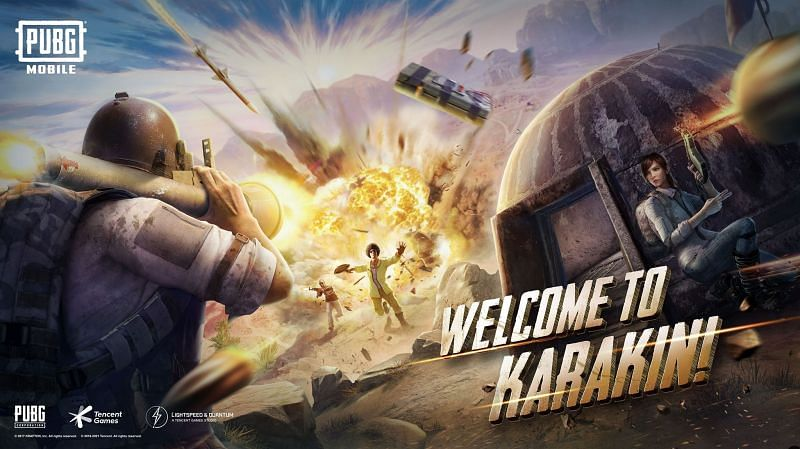 The Karakin map is live now (Image via PUBG Mobile)