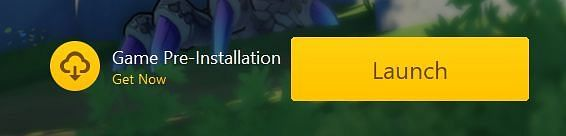 The Pre-Installation option for Genshin Impact on PC (Image via miHoYo)