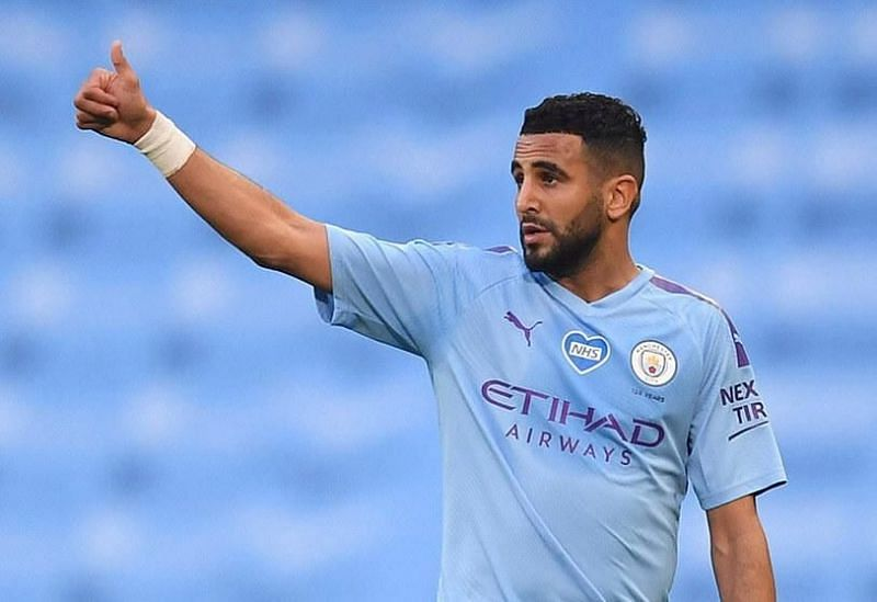 Riyad Mahrez is set to take on his former team Leicester City