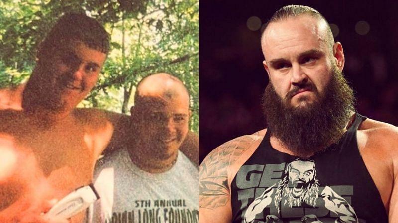 Braun Strowman looks almost unrecognizable in his latest post (Credit: Adam Scherr, WWE)