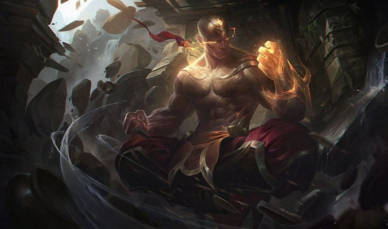 Buffed Lee Sin might get back his known fame in patch 11.8 (Image via Riot Games - League of Legends)