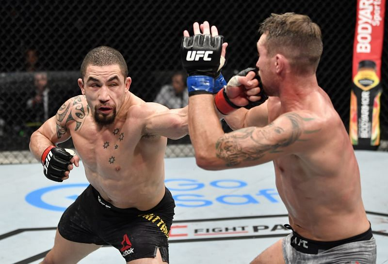 Robert Whittaker looked much improved in his 2020 win over Darren Till.