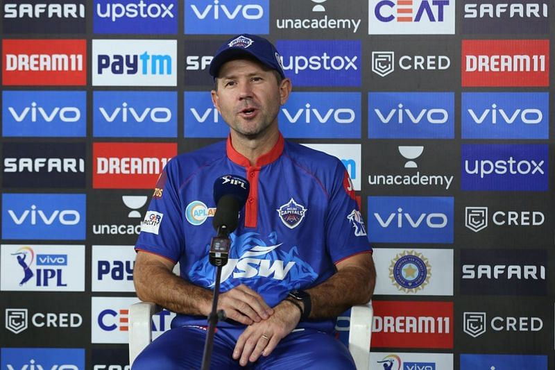 Ricky Ponting addressing the virtual press conference (PC: IPL)
