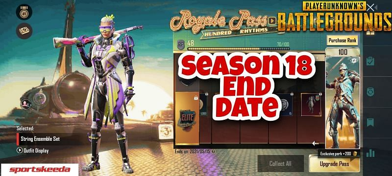 Each season in PUBG Mobile lasts for a period of two months