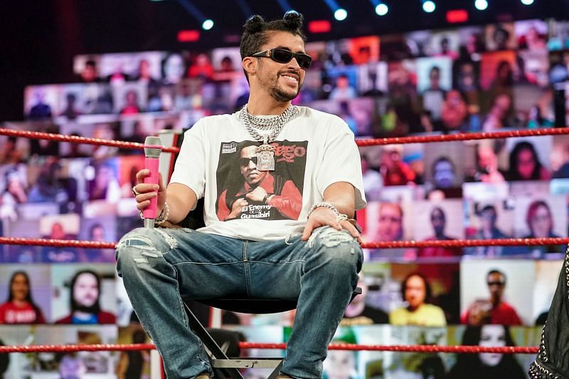 Bad Bunny has impressed during his time with WWE (Credit: WWE)