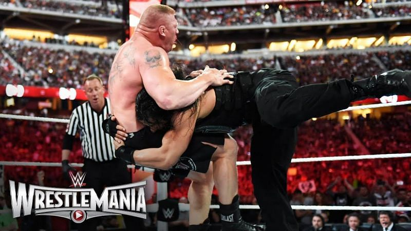 Roman Reigns was widely expected to beat Brock Lesnar in 2015