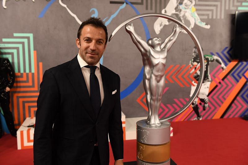 Alessandro Del Piero spent much of his playing career with Juventus