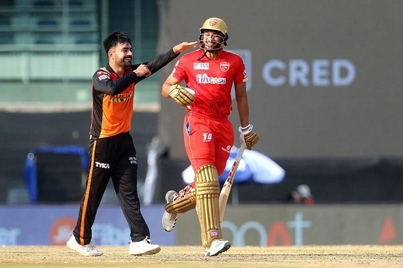 The Sunrisers Hyderabad finally opened their account in IPL 2021 (Image courtesy: IPLT20.com)