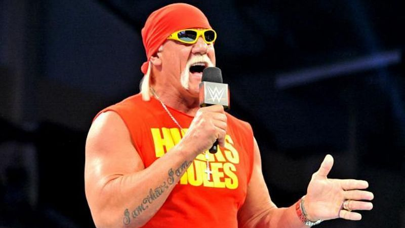 Hulk Hogan is a two-time WWE Hall of Famer.