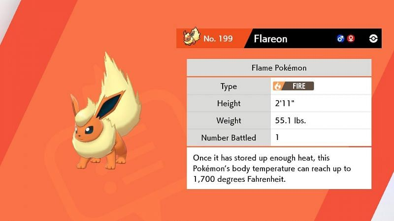 How to catch Flareon in Pokemon Sword and Shield