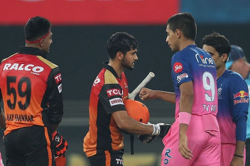 The Rajasthan Royals will take on the Sunrisers Hyderabad in Match 28 of IPL 2021 (Image Courtesy: IPLT20.com)