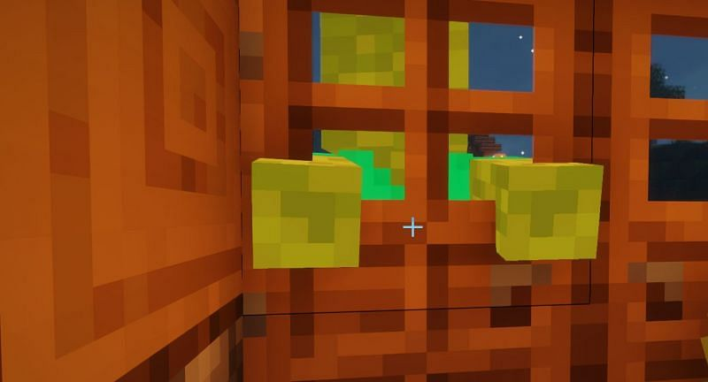 On Hard difficulty, 10% of zombies that bang on the doors will be able to break in (Image via Minecraft)
