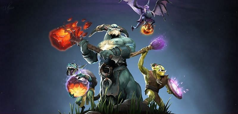 Neutral items were added to Dota 2 in the Outlanders Update