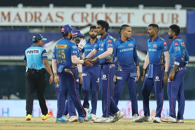 Jayant Yadav celebrates the wicket of Prithvi Shaw. Pic: IPLT20.COM