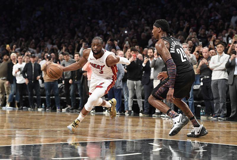 Dwyane Wade is a Miami Heat legend.