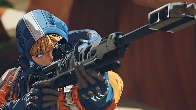 Wattson holding a Kraber .50cal-Sniper(Image via Respawn Entertainment)