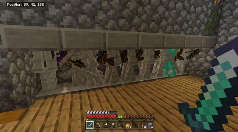 Shown: A highly efficient Skeleton farm (Image via u/Wizardboi03 on Reddit)