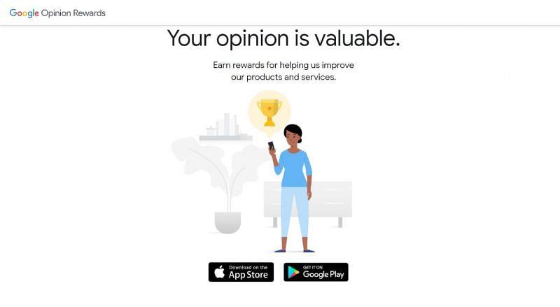 Google Opinion Rewards (Image via Google Opinion Rewards)
