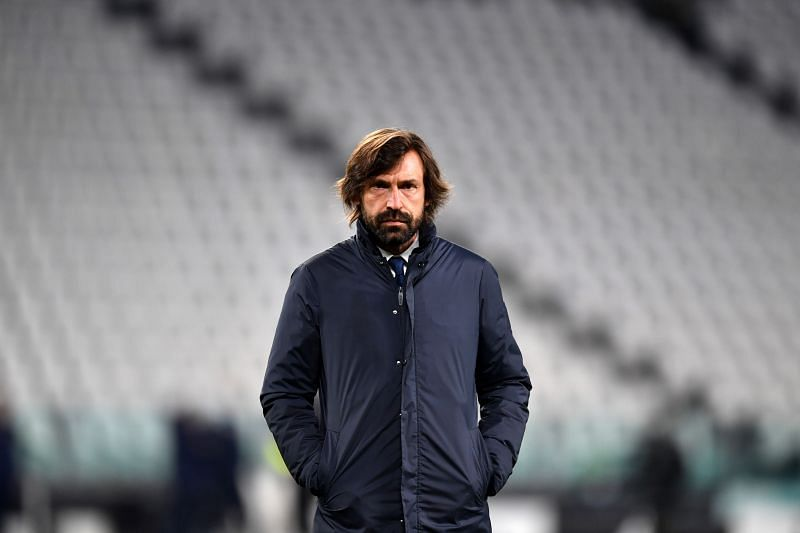 Juventus manager Andrea Pirlo remains a legendary figure in the Italian game.