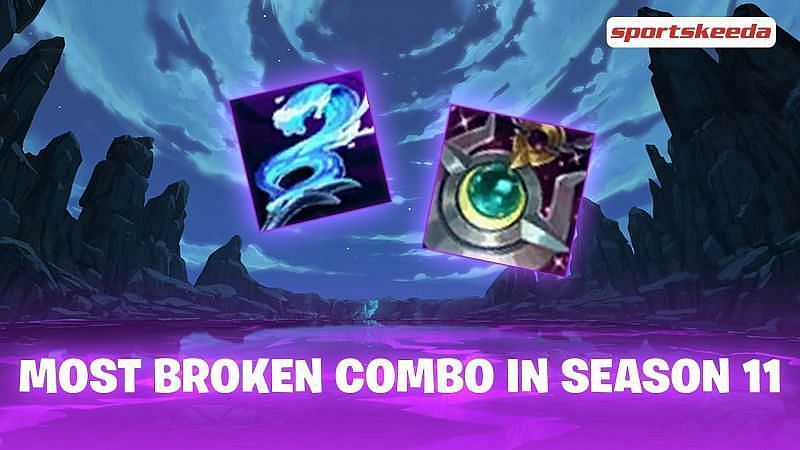 The Moonstaff combo is now broken for a few selective champions