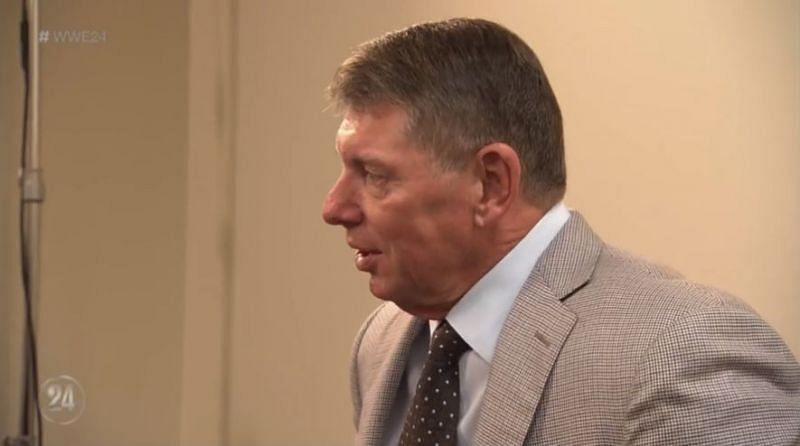 Vince McMahon has the final say on who appears on WWE television