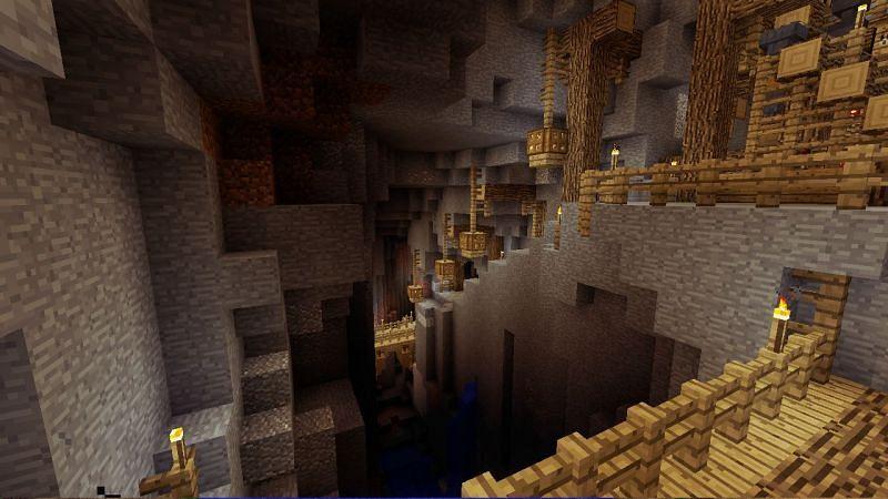 Mineshaft handmade (Image via Reddit)